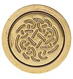 Fast& Friendly Service!  These elegant wooden handled seals have a large brass interchangeable coin.