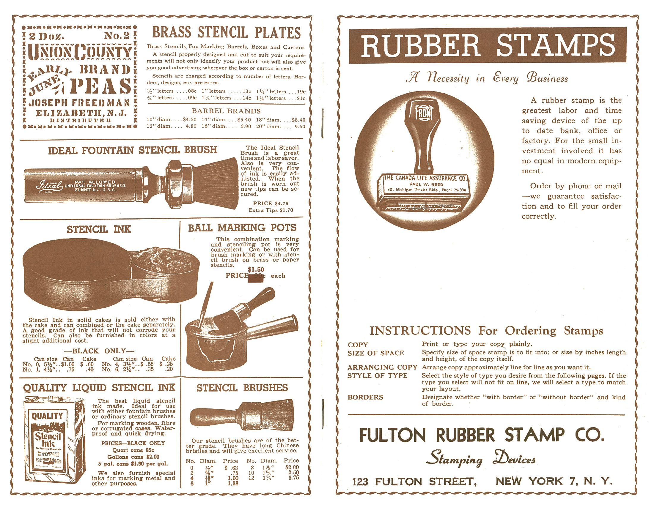Rubber Stamps Catalogue